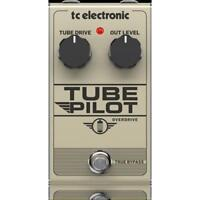 TC ELECTRONIC TUBE PILOT OVERDRIVE EFFETTO OVERDRIVE VALVOLARE A PEDALE PER CHIT