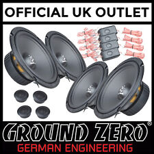 "Ford S-MAX 2006 > 600 Watts 6.5"" 2 Way Component Front & Rear Door Car Speakers"