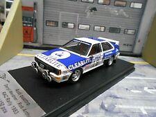 AUDI Quattro Gr.B Rallye RAC GB 1983 #18 Weidner Clearlite Trofeu Scala43 1:43