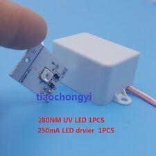280nm 100mA UV purple LED diode,Low wavelength Ultra violet UV LED Driver