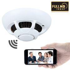Smoke Camera HD 1080P SPY Hidden Wireless Wifi Detector Motion DVR Security US