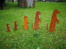 lustige Schnecke rustySnail Gartenstab Metall Edelrost Stecker 2 Größen eyecatch