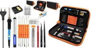 Soldering Iron Set Adjustable Temperature Portable Electric Welding Repair Tools