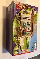 Schleich Horse Club Play Set 42415 Wagon Clubhouse Farm Ranch Cowgirl