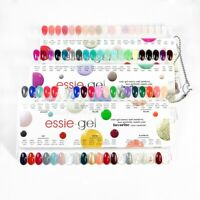 Essie Gel Polish Color Sample Chart Palette Display