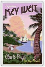KEY WEST - JUMBO FRIDGE MAGNET - FLORIDA KEYS KEY LARGO UNITED STATES AMERICA