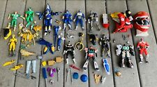POWER RANGERS Lot 90's-2001 Megazord Time Force Shark Action Figures & Parts