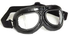 Mil-Tec Fliegerbrille Typ RAF Kunststoff Brille Pilotenbrille Schwarz Chrom