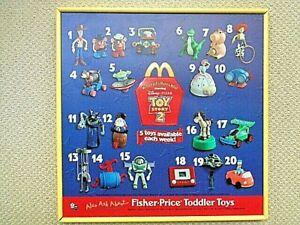 McDonald's Disney's Toy Story 2 MIP Toys