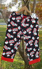 NWT Sanrio Hello Kitty Roll-Up Lounge Pajama Pants for Junior by Hot Topic