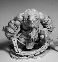 1 x BLUFERG FIRE GIANT JAILOR HUGE - BONES REAPER figurine miniature rpg 77593