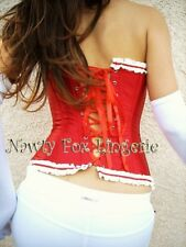 33 Sexy Red Burlesque Corset Stage Costume Xl 3840