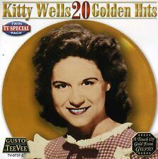 Kitty Wells - 20 Golden Hits [New CD]