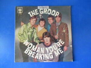 """The GROOP Woman You're Breaking Me LP - OZ Psych Garage Beat '60s Rare 12"""""""