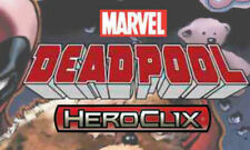 Heroclix Marvel sealed maps 2014 DEADPOOL & 2017 DEADPOOL/X-FORCE Lot
