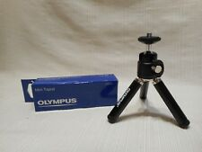 New Olympus Mini Tripod black  for camera    about 4 inches high