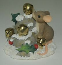 Charming Tails Jingle Bell Rock figurine by Fitz and Floyd 87/132 Dean Griff