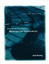 Managerial Economics Revised Edition Study Guide, Hirschey, Mark, Good Book