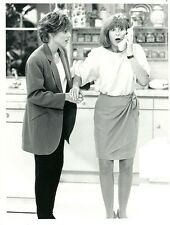 KRISTY MCNICHOL DINAH MANOFF ON BIG WIRELESS PHONE EMPTY NEST 1990 NBC TV PHOTO