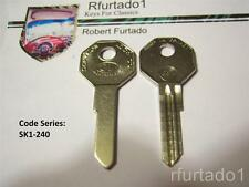 Key Blank for Vintage Mercedes Benz 50's 60's  (See Code Series)    63A