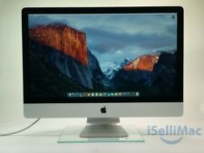 """Apple 27"""" iMac Late 2013 3.4GHz i5 1TB 8GB ME089LL/A + Hinge Issue Sold As Is"""