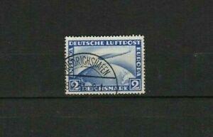 LOT  GERMANY AIRMAIL 1928 : GRAF ZEPPELIN 2 DM : START $ 1.00 !!