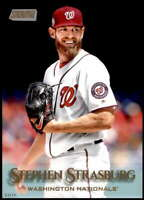 Stephen Strasburg 2019 Topps Stadium Club 5x7 Gold #220 /10 Nationals