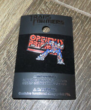 NEW Universal Studios Hasbro Transformers Optimus Prime Sliding Pin Trading