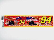 Bill Elliott #94 McDonald's (1998) Bumper Sticker/Strip (Nascar)(Wincraft)