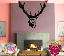 Wall Stickers Vinyl Decal Elk Deer Animal Forest Hunting Kids  Mural  z676