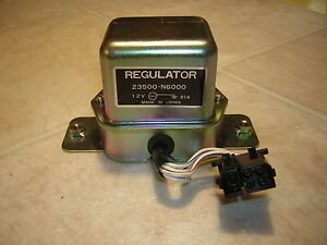 Nissan 23500-N6000 NOS Voltage Regulator Vintage 1974-1977 Datsun,200SX,B210,710
