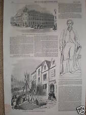 Canadá Montreal Riot donegana's Hotel 1849 Print