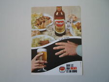 advertising Pubblicità 1967 BIRRA BEER DREHER