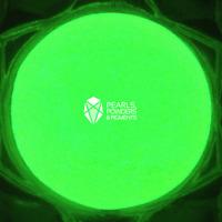 GREEN Glow in the Dark Fluorescent Pigment Powder for Paint PlastiDip Nail Art