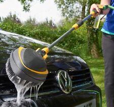 Telescopic Car Wash Cleaning Brush Van Vehicle Cleaner Hose Tool 100ml Reservoir