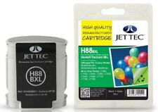 JetTec 88 C9396A Black Remanufactured Ink Cartridge for HP - H88BXL