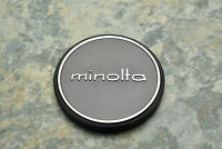 Genuine Minolta Metal 57mm Push On Front Lens Cap for 55mm Front (2727)