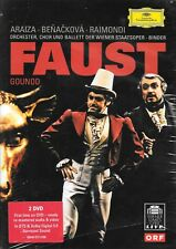 Charles Gounod: Faust - Binder Vienna Staatsoper - New Factory Sealed 2-Disc DVD