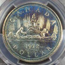 1972 Canada Voyageur Ag Silver Dollar PCGS SP-67, Buy 3 Get $5 Off!! R6413