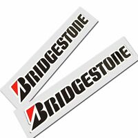 BRIDGESTONE motorcycle decals custom graphics stickers x 2 pieces