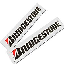 BRIDGESTONE motorcycle decals custom graphics stickers x 2 pieces