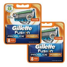 Original Gillette Fusion Proglide Power Men's Razor Blade Refills 16 Cartridge