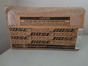 Bose 901 Speakers Series VI Equalizer Open Box Never Used