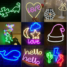 Love Night Lights Led Neon Signs Usb/Battery Wall for Home Decor Party Bedroom