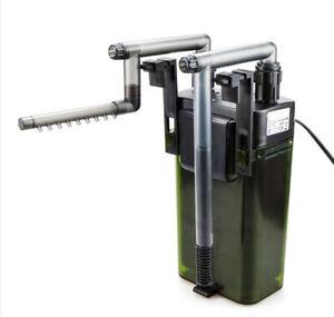 UP-Aqua External Hang On Canister Filter Aquarium Fish Nano Tank Filter Media