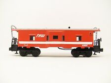 LIONEL 9309 TPW Illuminated Lighted Bay Window Caboose ~Clean