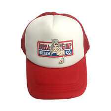 Bubba Gump Shrimp Co. White And Red Trucker Hat Forrest Gump Cap Costume Movie