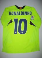 FC Barcelona Ronaldinho Third Jersey Trikot Maglia Kit Brazil FCB 2005-2006 Nike