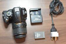 Nikon D3000  Digital SLR Camera + AF-S DX 18-55mm Lens 19k Shutter