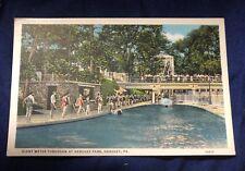 Postcard Vintage - Giant Water Toboggan Hershey Park Pennsylvania - Unposted